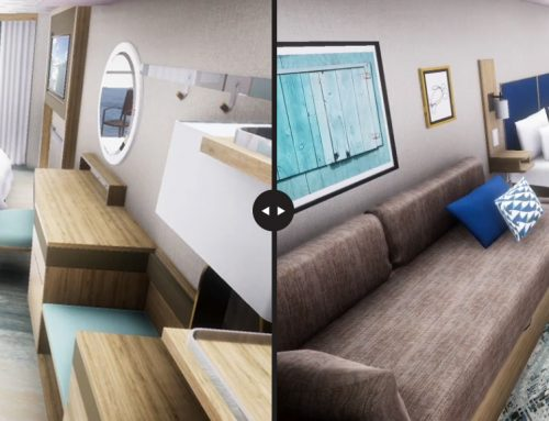 Visualization in passenger vessel design – Virtual world gaining on physical